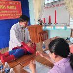 Công đoàn Cao su Chư Păh: Tập huấn vệ sinh an toàn thực phẩm và sơ cấp cứu cho cô nuôi dạy trẻ