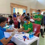 Gần 200 người lao động Cao su Tân Biên hiến máu tình nguyện