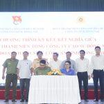 Đoàn Thanh niên Cao su Đồng Nai kết nghĩa với Đoàn Thanh niên Công an tỉnh