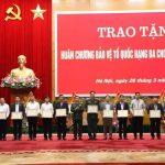 VRG được khen thưởng trong công tác an ninh quốc phòng