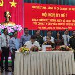Cao su Tân Biên ký kết hoạt động kết nghĩa Bộ Chỉ huy Quân sự tỉnh Tây Ninh