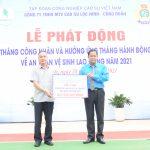 Cao su Lộc Ninh phát động Tháng Công nhân