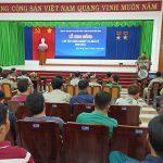 Cao su Dầu Tiếng tập huấn nghiệp vụ cho lực lượng bảo vệ