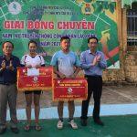 Cao su Ea H'Leo tổ chức giải bóng chuyền truyền thống