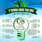 Tổ chức Cuộc thi viết Đoàn trong trái tim tôi và Ý tưởng sáng tạo VRG