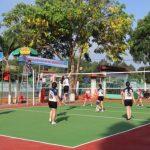 200 vận động viên Cao su Lộc Ninh tham gia giải bóng chuyền chào mừng Tháng công nhân