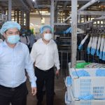 Ông Nguyễn Ngọc Cảnh - Phó Chủ tịch Ủy ban Quản lý vốn Nhà nước tại DN làm việc với Công ty CP VRG K...