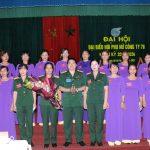 Chị Trịnh Thị Hằng tái đắc cử Chủ tịch Hội phụ nữ Công ty 78
