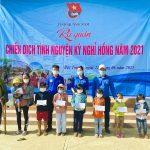 Đoàn Thanh niên Cao su Quảng Nam tham gia tình nguyện Kỳ nghỉ hồng
