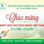 VRG chúc mừng ngày Báo chí Cách mạng Việt Nam 21/6