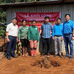 Cao su Chư Păh khởi công 5 công trình phục vụ công nhân