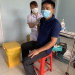 148 cán bộ, giáo viên Trường Cao đẳng Công nghiệp Cao su được tiêm vaccine Covid -19