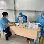 MDF VRG Kiên Giang tiêm vaccine phòng Covid - 19 cho 200 người lao động