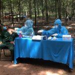 Cao su Dầu Tiếng:  Trên 79% cán bộ công nhân được tiêm vaccine ngừa Covid -19