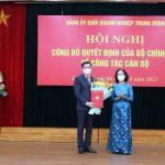 Đ/c Nguyễn Long Hải giữ chức Bí thư Đảng ủy Khối Doanh nghiệp Trung ương