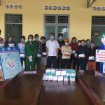 Cao su Chư Mom Ray: Trao tặng 1.050 hộp khẩu trang cho công nhân