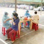 Chi nhánh Bình Phước (Công ty Gỗ Thuận An) tiêm vaccine phòng ngừa Covid - 19 đạt  93%