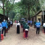 Công đoàn Cao su Tân Biên hỗ trợ 98 triệu đồng cho người lao động 3 tại chỗ