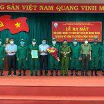 Cao su Mang Yang ra mắt 9 tổ lực lượng tự quản về phòng cháy chữa cháy và cứu nạn cứu hộ