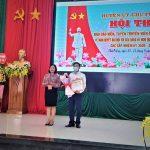 Anh Lương Quang Hiến - Cao su Chư Prông đạt giải nhất Hội thi Tuyên truyền viên giỏi cấp huyện