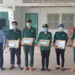 Cao su Tây Ninh khen thưởng công nhân sớm hoàn thành kế hoạch năm