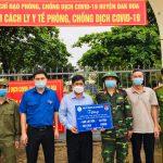 Cao su Mang Yang: Hỗ trợ 5 tấn gạo cho các khu cách ly trên địa bàn