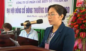 Gỗ Thuận An chia cổ tức 12%