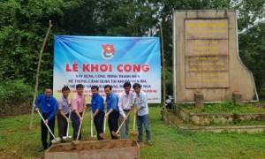 ĐTN VRG phối hợp cùng Tỉnh đoàn Bình Phước, ĐTN Cao su Đồng Phú, Phú Riềng khởi công Xây dựng hệ thống cảnh quan tại Bia kỷ niệm 70 năm Cách mạng Tháng 10 Nga