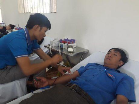 Ngày hội thực sự đã lan tỏa toàn ĐVTN và NLĐ công ty về ý nghĩa thiết thực của phong trào hiến máu tình nguyện