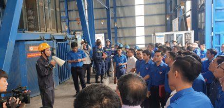 Đoàn đại biểu thăm cơ sở sản xuất và khai thác than