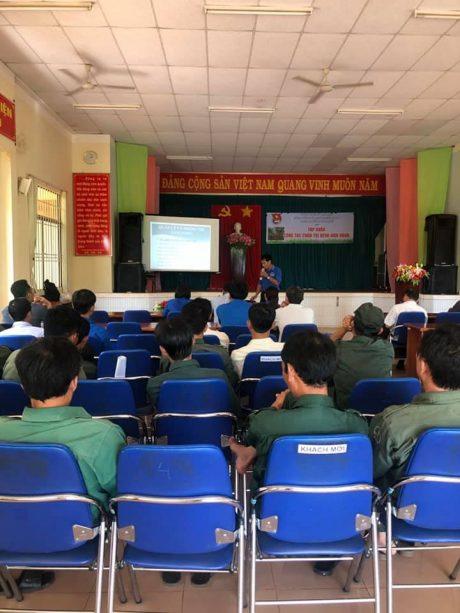 Đông đảo thành viên tham gia buổi tập huấn