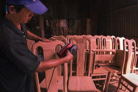Mỹ là thị trường xuất khẩu số 1 về gỗ và sản phẩm gỗ của Việt Nam. Ảnh: Bùi Viết Đồng.