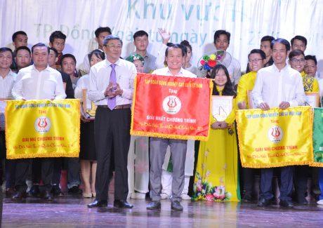 Cao su Việt Lào đạt giải nhất Hội thi Tiếng hát công nhân cao su năm 2019. Ảnh: Vũ Phong