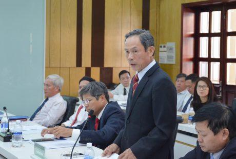 Chủ tịch HĐQT VRG Trần Ngọc Thuận phát biểu
