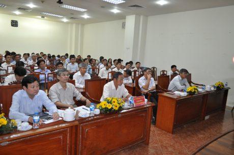 Các đại biểu tham dự Hội nghị tại điểm cầu TP.HCM
