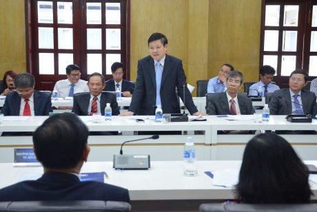 TGĐ VRG Huỳnh Văn Bảo nêu ý kiến tại buổi ký kết