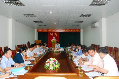 Đoàn công tác làm việc tại Cao su Mang Yang