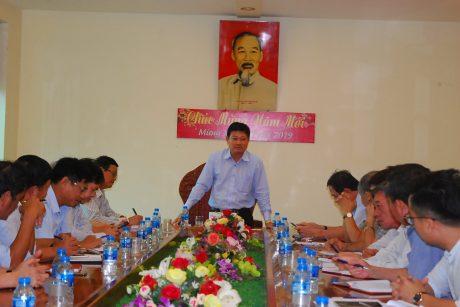 TGĐ VRG Huỳnh Văn Bảo phát biểu tại Cao su Chư Sê