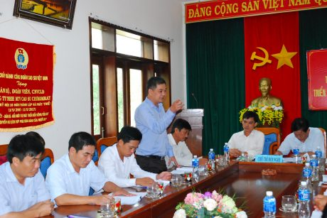 Chủ tịch HĐTV Trương Ly tham gia thảo luận trong hội nghị