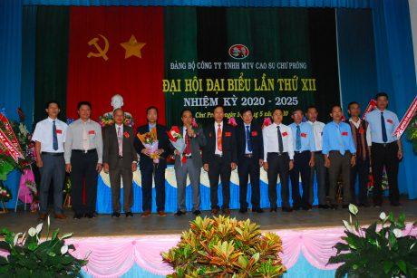Ban chấp hành nhiệm kỳ 2020 - 2025 ra mắt đại hội