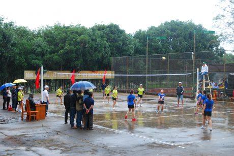Một pho bóng trong trận chung kết dưới mưa