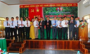 Ban chấp hành Đảng bộ công ty khóa XI, nhiệm kỳ 2020 - 2025 ra mắt trước đại hội