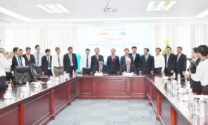 Hai bên tiến hành ký kết hợp tác kinh doanh
