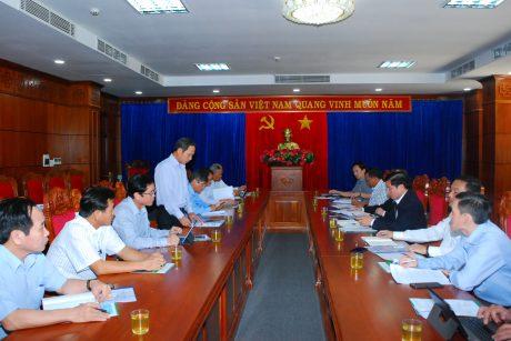 Ông Trần Ngọc Thuận - Chủ tịch HĐQT VRG phát biểu và nếu kiến nghị với lãnh đạo tỉnh Đăk Lăk