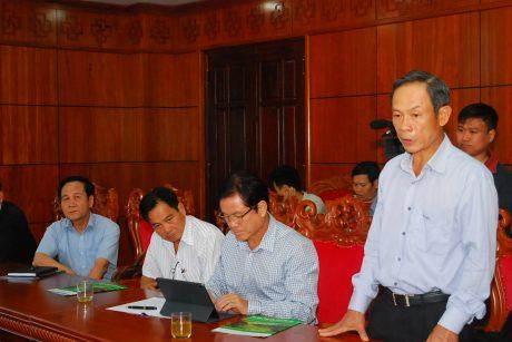 Ông Trần Ngọc Thuận - Chủ tịch VRG nêu kiến nghị