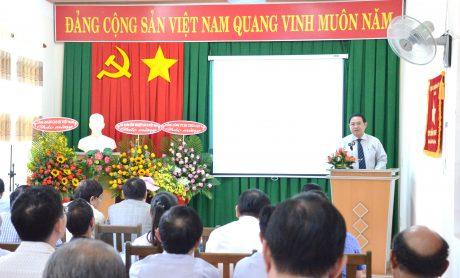 Phó TGĐ VRG Trương Minh Trung phát biểu chỉ đạo tại buổi lễ
