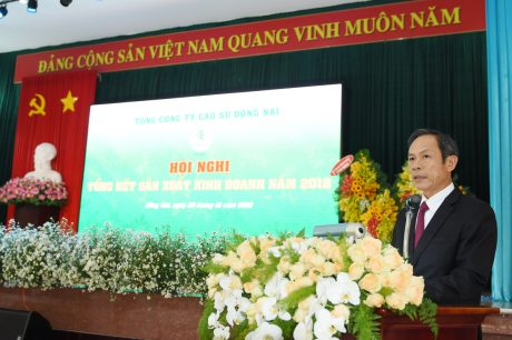 Ông Trần Ngọc Thuận - Chủ tịch HĐQT VRG phát biểu