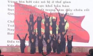 Chương trình sử thi tái hiện  sự kiện thành lập Chi bộ Đông Dương Cộng sản đảng, lãnh đạo phong trào đấu tranh của giai cấp công nhân