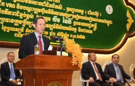 Chủ tịch HĐQT VRG Trần Ngọc Thuận phát biểu tại hội nghị