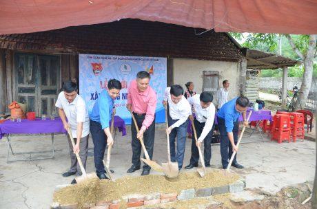 Khởi công xây dựng nhà nhân ái tại Nghi Lộc